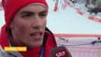 Video «Ski Alpin: Slalom der Männer, Interview mit Daniel Yule (sotschi direkt, 22.2.2014)» abspielen