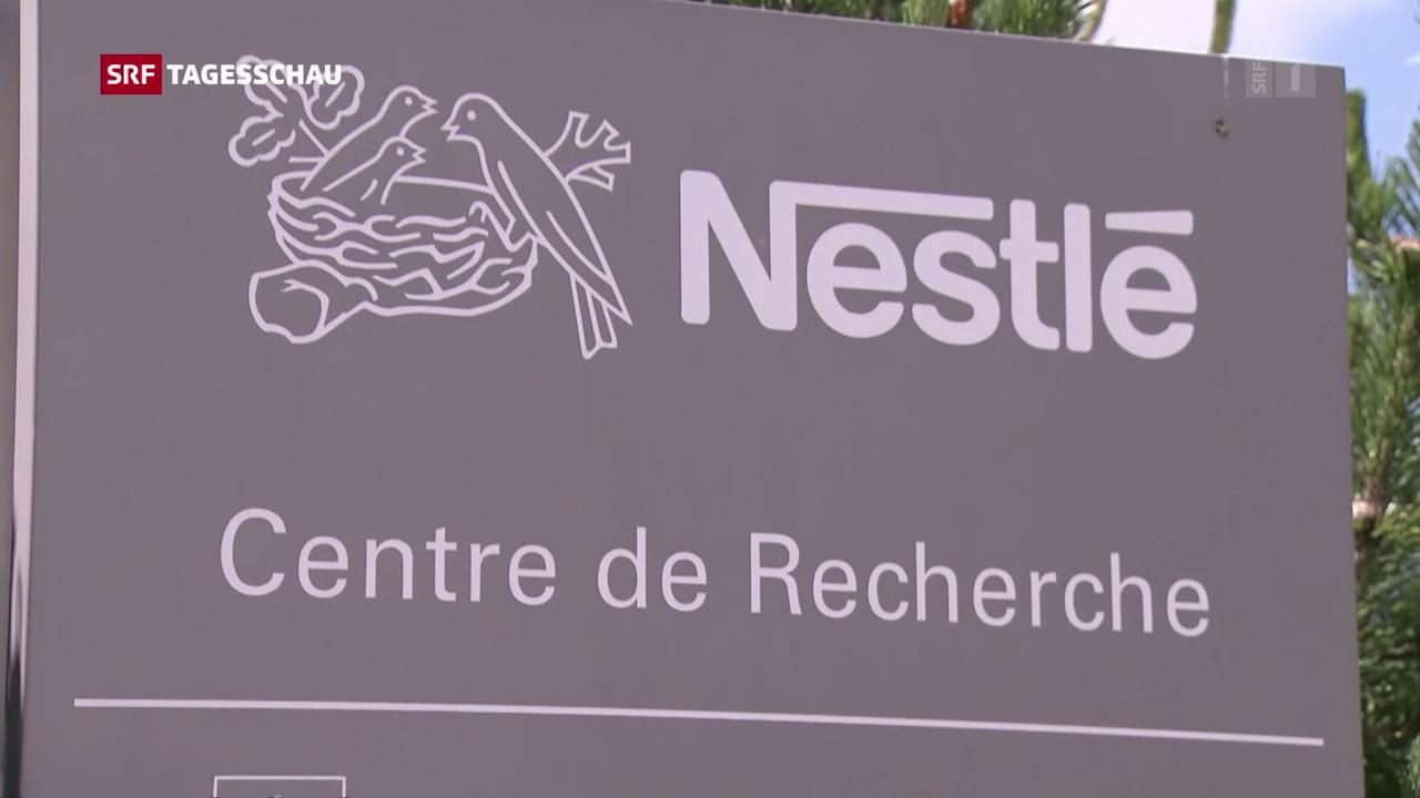 Konzernumbau bei Nestlé