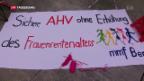 Video «Mit rosa Strickmützen gegen Männerdominanz» abspielen