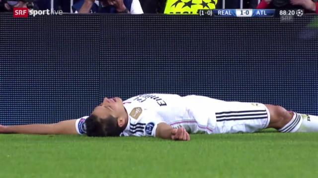 Champions League Real Madrid Besiegt Den Fluch Und Steht Im