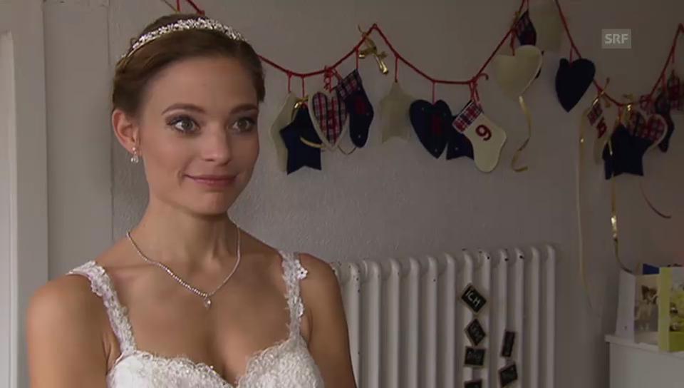 Eveline Suter: Ihre Hochzeit an Weihnachten