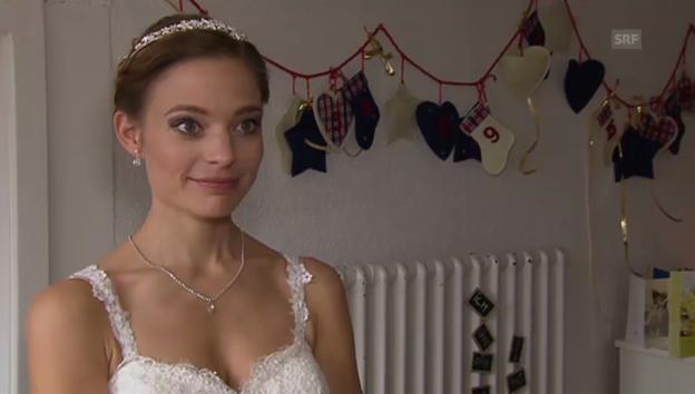 Video «Eveline Suter: Ihre Hochzeit an Weihnachten» abspielen