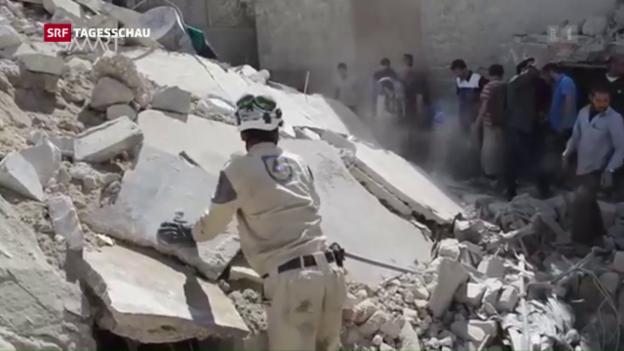 Video «Neue Eskalation in Syrien» abspielen