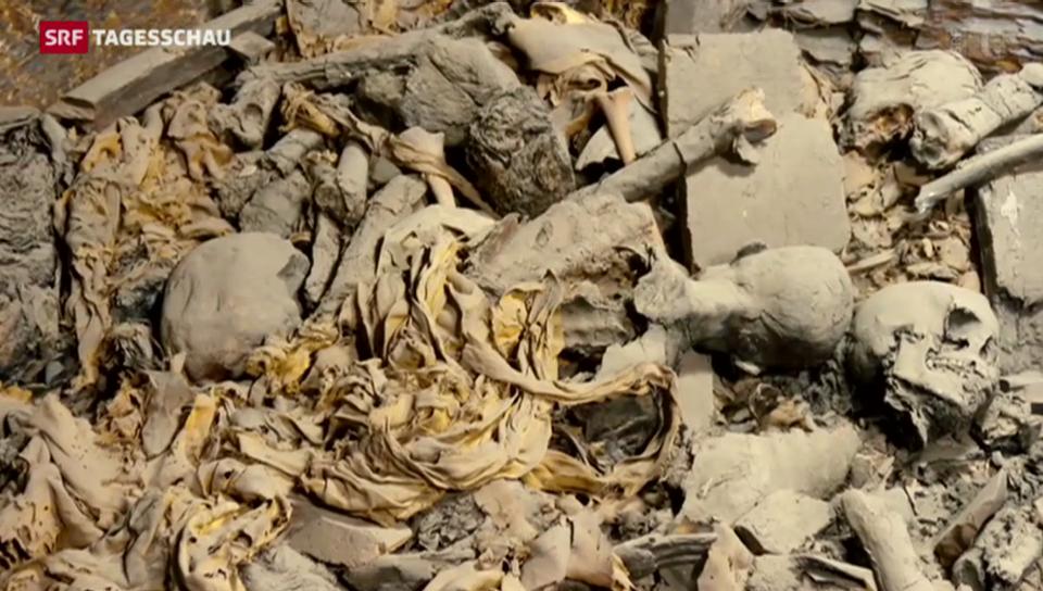 Basler Archäologen entdecken 50 ägyptische Mumien