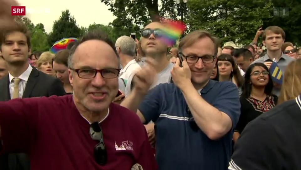 Aus dem Archiv: Die USA legalisieren die Homo-Ehe