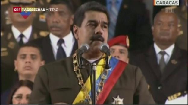 Video «Stunde Null in Venezuela» abspielen