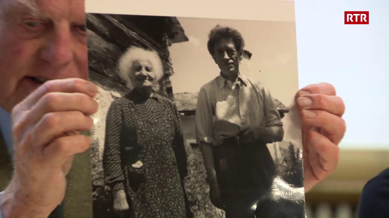 Tgi era Alberto Giacometti - parents ed amis raquintan