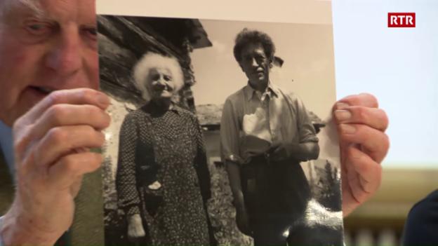 Laschar ir video «Tgi era Alberto Giacometti - parents ed amis raquintan»