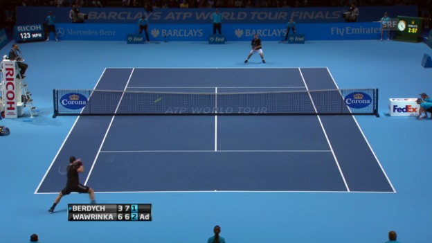 Video «Highlights Wawrinka - Berdych («sportlive»)» abspielen