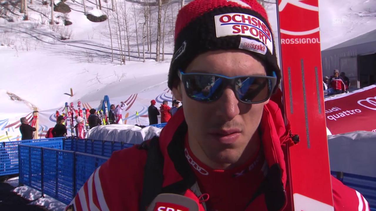 Ski alpin: WM 2015 in Vail/Beaver Creek, Abfahrtsvorschau mit Carlo Janka