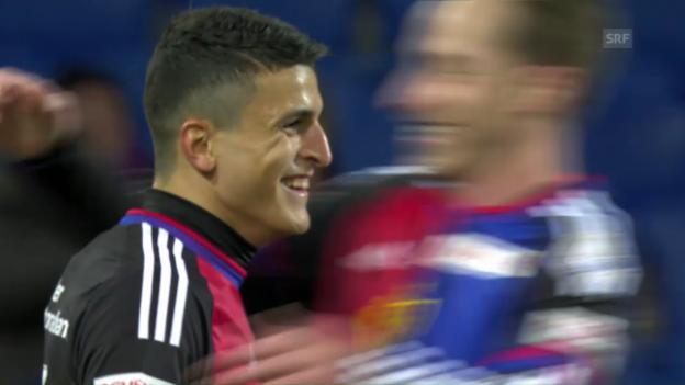 Video «Basel-Kantersieg dank Elyounoussi» abspielen