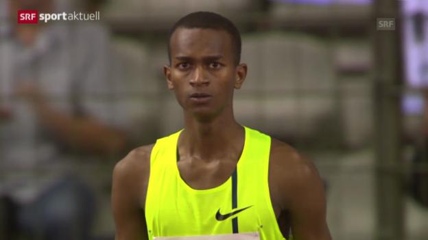 Video «Leichtathletik: Zusammenfassung Diamond League Brüssel» abspielen