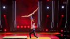 Video «Alisha und Dario begeistern mit Sportakrobatik» abspielen