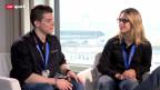 Video «Giulia Steingruber und Lucas Fischer im Gespräch» abspielen