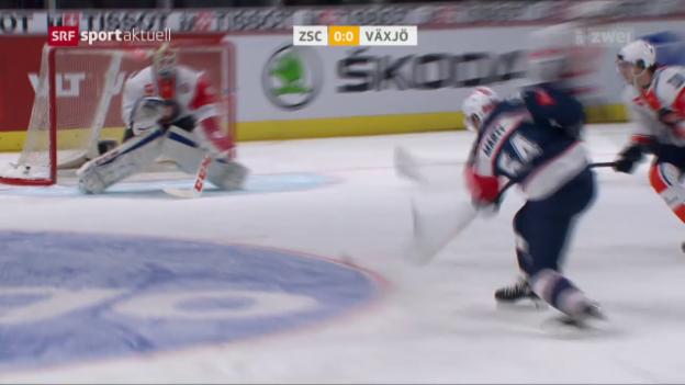 Video «0:0 zwischen Lions und Växjö» abspielen