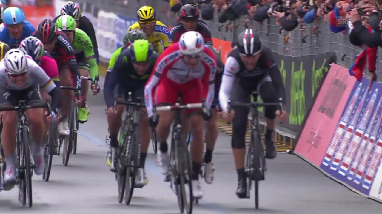 Rad: Mailand-San Remo, Schlusssprint