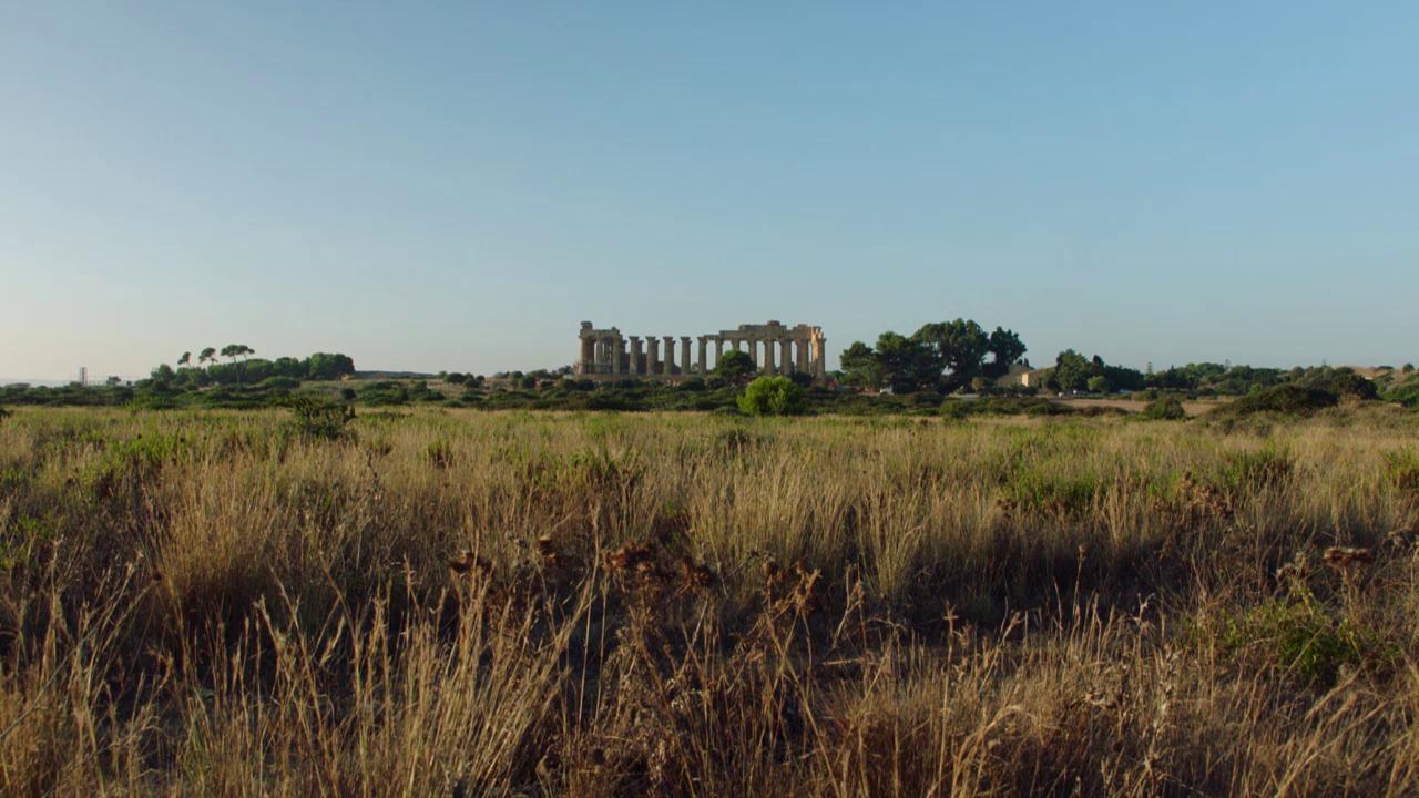 Griechische Tempel in Selinunte