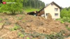 Video «Entspannung der Hochwasserlage in der Schweiz» abspielen