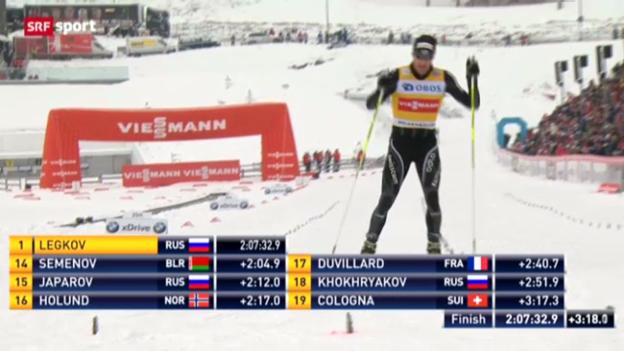 Video «Langlauf: Weltcup am Holmenkollen» abspielen