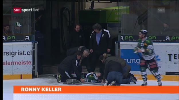 Video «Ronny Keller in Nottwil operiert» abspielen