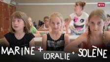 Laschar ir video «Marine, Coralie e Solène»