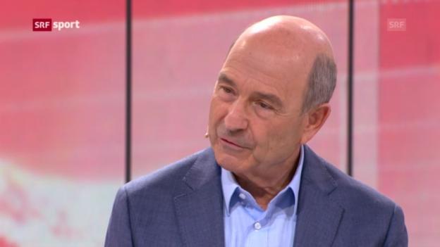 Video «Gespräch mit Peter Sauber im «sportpanorama»» abspielen