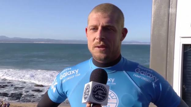 Video «Surfen: Interview mit Mick Fanning (englisch)» abspielen