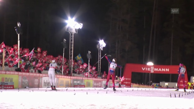 Video «Ski nordisch, Tour de Ski, Zusammenfassung Etappe 1&2» abspielen