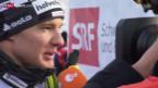 Video «Langlauf: Dario Cologna bei seinem Heimrennen» abspielen