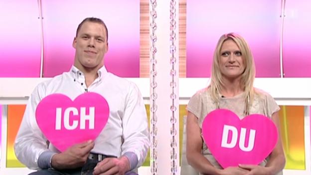 Video ««Ich oder Du»: Schwinger Matthias Sempach und Heidi Jenny» abspielen