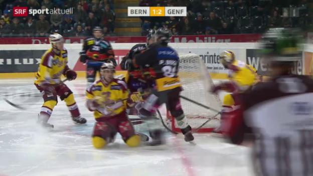 Video «Bern verliert in Overtime gegen Genf» abspielen