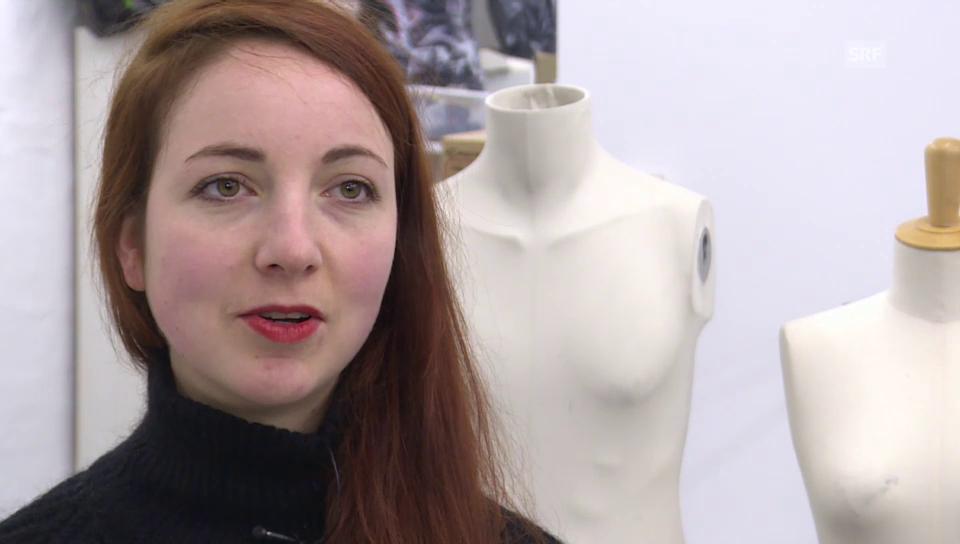 Modedesignerin Tosca Wyss