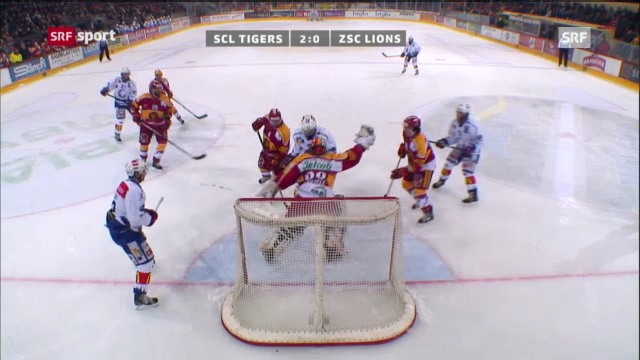 Eishockey: SCL Tiger - ZSC Lions