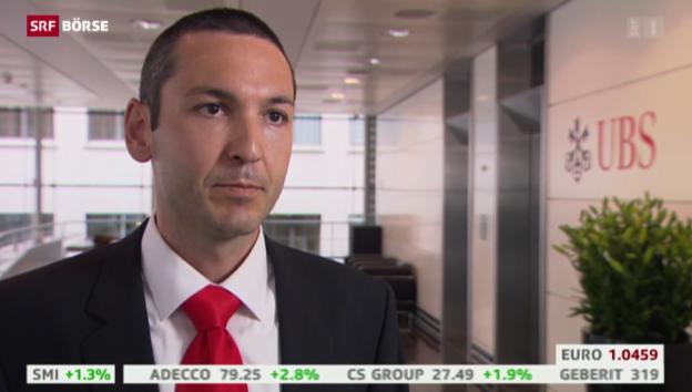 Video «SRF Börse vom 13.07.2015» abspielen