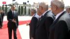 Video «Obama besucht Westjordanland» abspielen