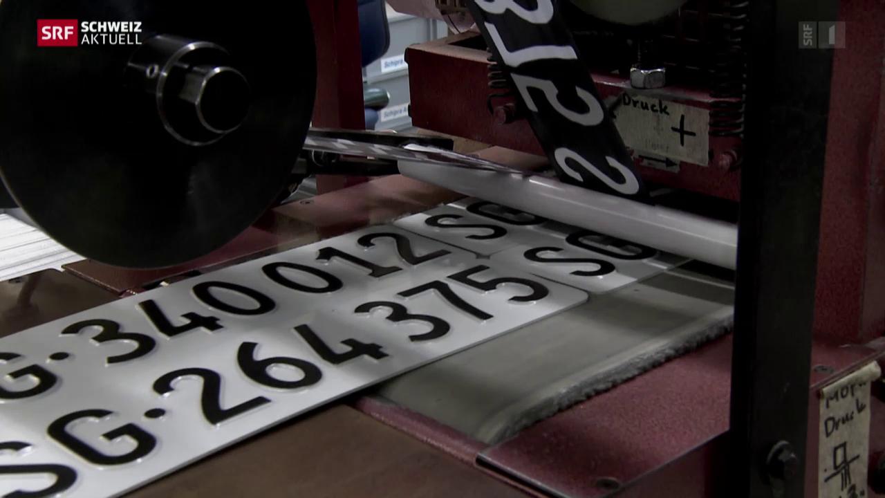 Autonummernschilder - Jedes ein Einzelstück