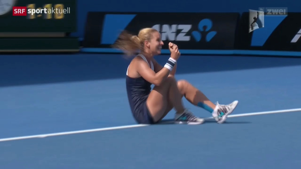 Tennis: Australian Open, Halbfinals der Frauen