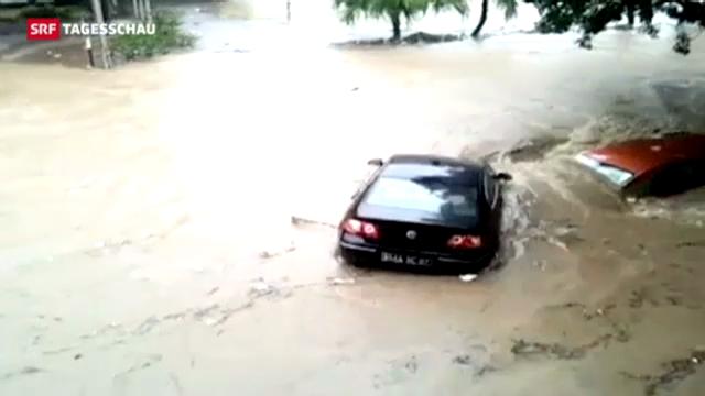 Tote bei Überflutungen auf Mauritius