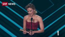 Link öffnet eine Lightbox. Video «People's Choice Award» von Katastrophe überschattet abspielen
