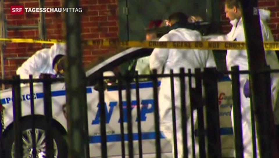 Polizisten getötet in New York