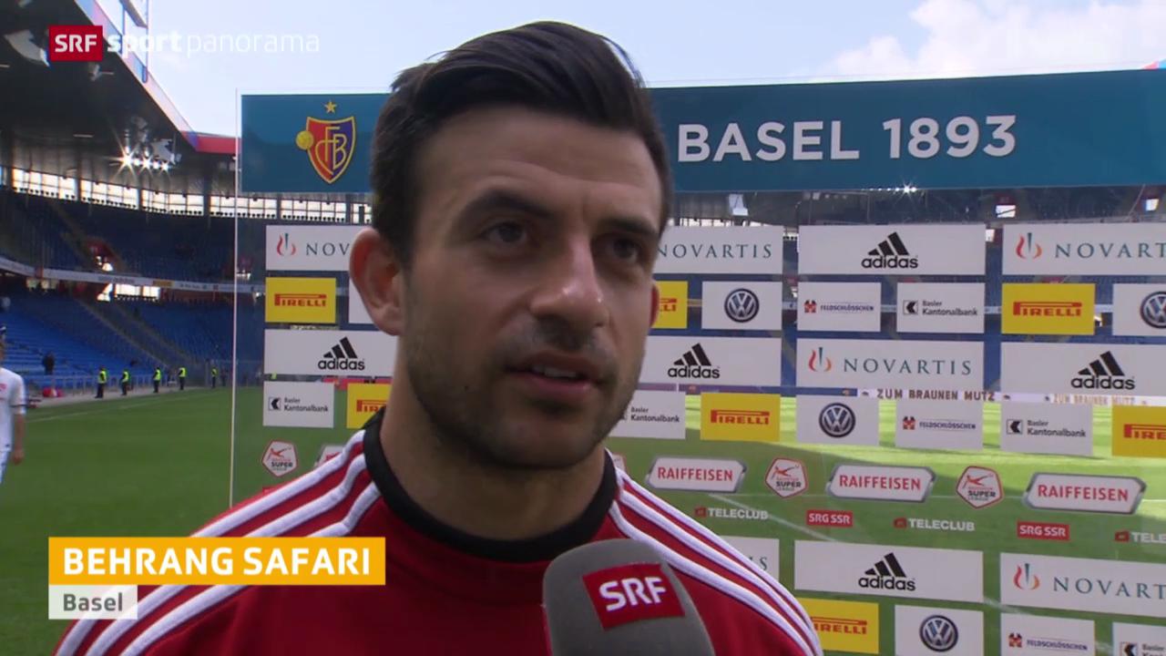 Fussball: Stimmen zu Basel-Thun
