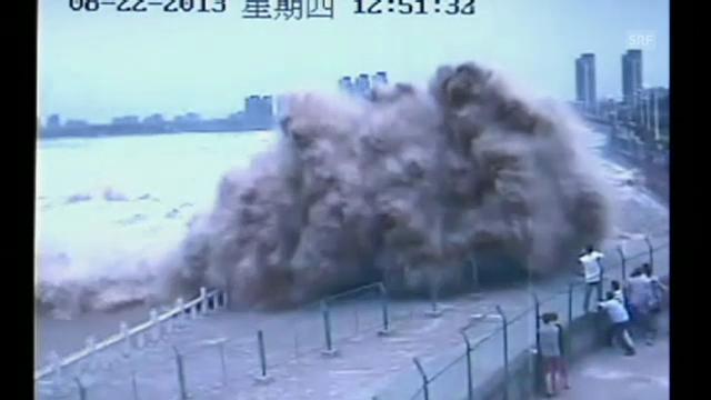 Die Flutwelle von Haining