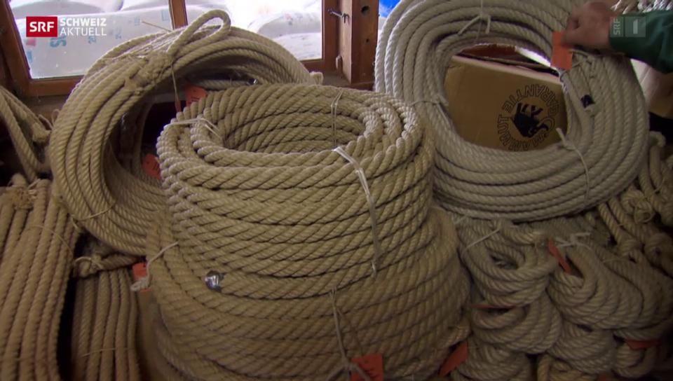 Seile wie vor 100 Jahren
