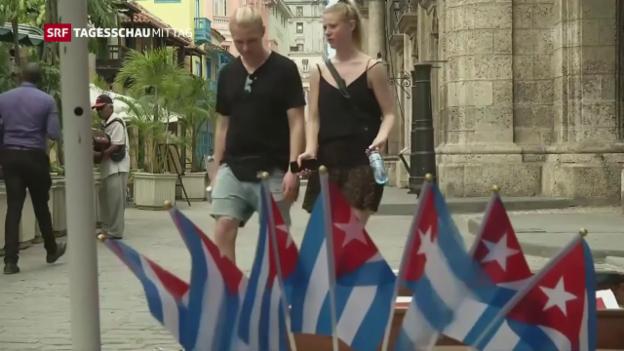 Video «Trump will Kuba-Politik rückgängig machen» abspielen