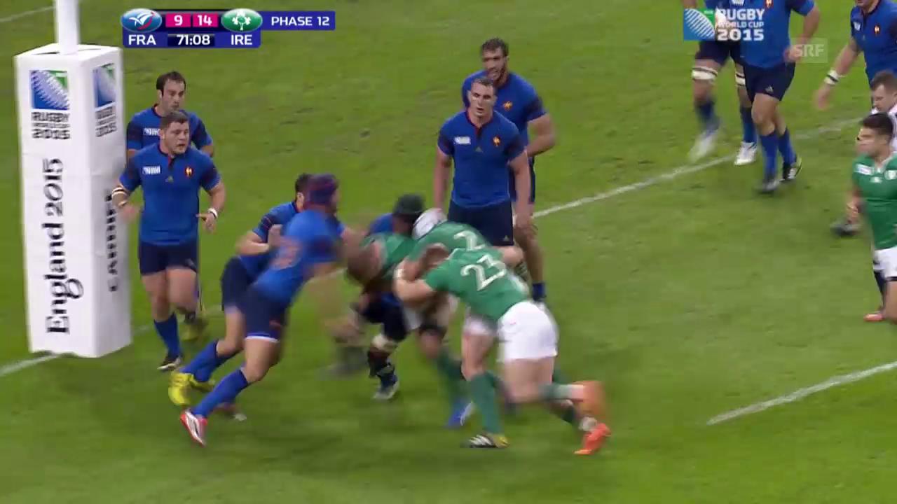 Rugby: WM 2015, Irland - Frankreich