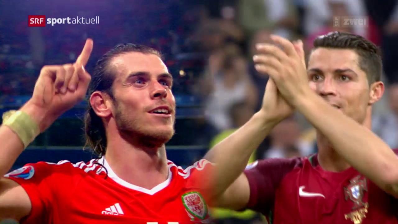 Die Halbfinal-Stars Bale und Ronaldo