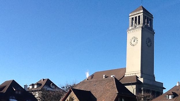 Glockengeläut Friedenskirche Bern