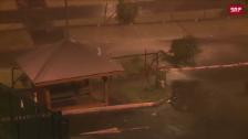 Link öffnet eine Lightbox. Video Verheerende Hurrikan-Saison abspielen