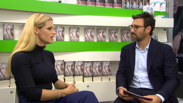 Video ««G&G Weekend» mit Michelle Hunziker an der Frankfurter Buchmesse» abspielen