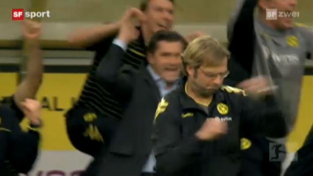 Video «Jürgen Klopp – Erheiterndes aus dem Meisterschaftsjahr 2011 des Borussia-Trainers («sportlounge» vom 16.05.2011)» abspielen